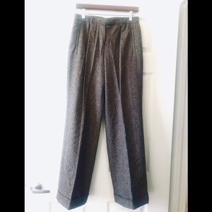 ♣️ MODA INTERNATIONAL TWEED WIDE LEG DRESS PANT ♠️